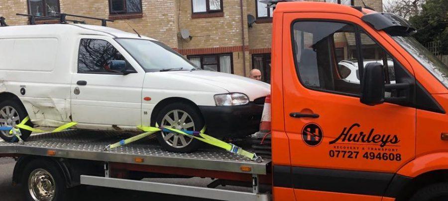 Hurleys Recovery & Car Transport Logo